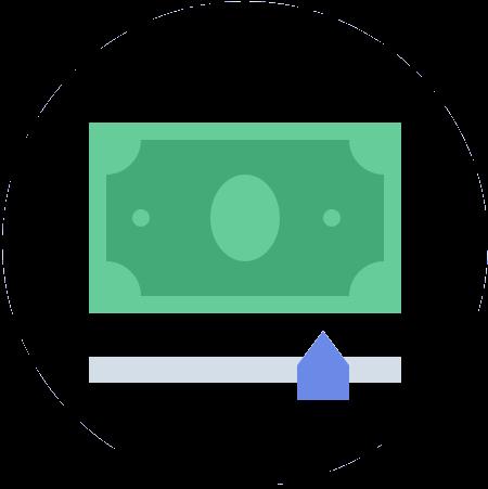 Faça sua simulação online, indique quanto precisa e em que prazo quer pagar